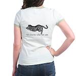 cats don't need names Jr. Ringer T-Shirt