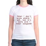 Help! Jr. Ringer T-Shirt
