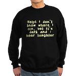 Help! Sweatshirt (dark)