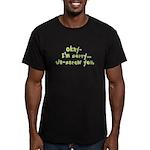 Un-Screw You Men's Fitted T-Shirt (dark)