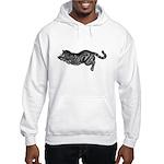 Cat totem, mouser Hooded Sweatshirt