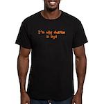 Abortion Men's Fitted T-Shirt (dark)