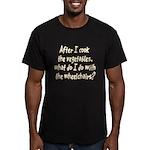 Cook Vegetables Men's Fitted T-Shirt (dark)