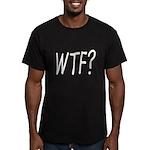 WTF? Men's Fitted T-Shirt (dark)