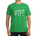 WTF? Men's Fitted T-Shirt (dark)