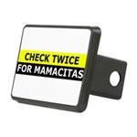 Check Twice for Mamacitas Hitch Cover