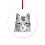 Cat Totem Ornament (Round)