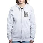 Cat Totem Women's Zip Hoodie