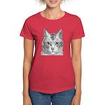 Cat Totem Women's Dark T-Shirt