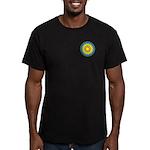 Sun Web Men's Fitted T-Shirt (dark)