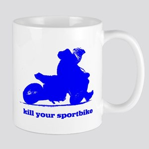 yamaha blue kill your sportbi Mug