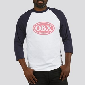OBX Pink Outer Banks Baseball Jersey