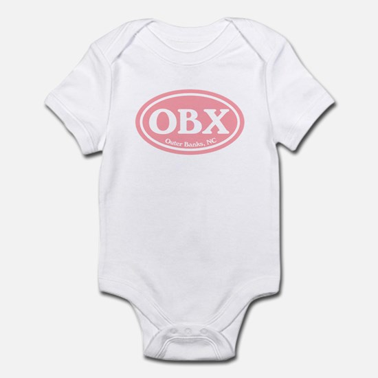 OBX Pink Outer Banks Infant Bodysuit