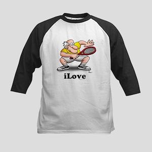 iLove-tennis Kids Baseball Jersey