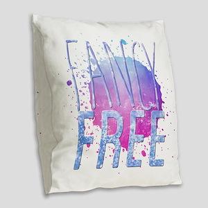Fancy Free Burlap Throw Pillow