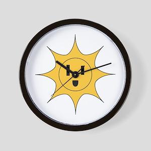 Li'l Sonny Powers Wall Clock
