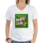 Sacred Healing 7 Women's V-Neck T-Shirt