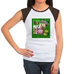 Sacred Healing 7 Women's Cap Sleeve T-Shirt