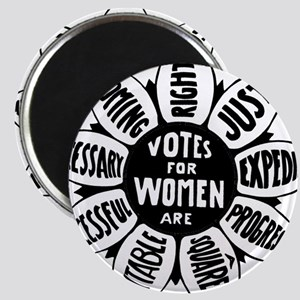 Votes For Women Historical design Magnets
