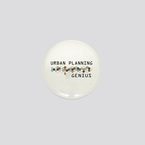 Urban Planning Genius Mini Button