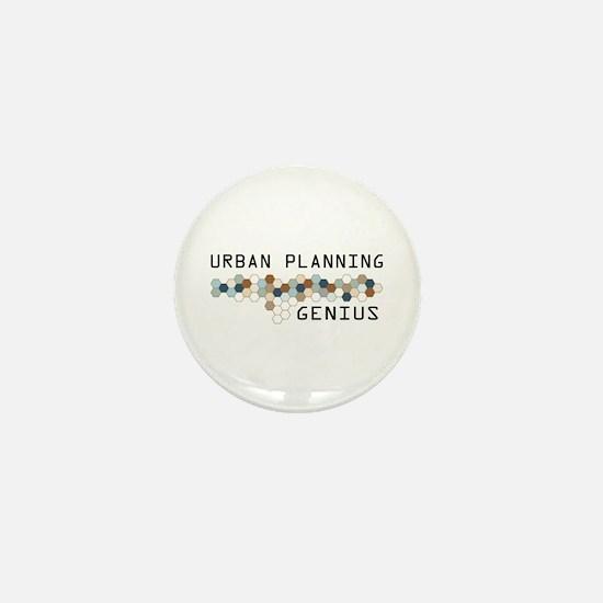 Urban Planning Genius Mini Button