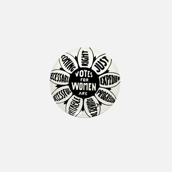 Votes For Women Historical design Mini Button