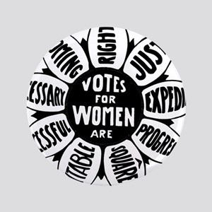 Votes For Women Historical design Button