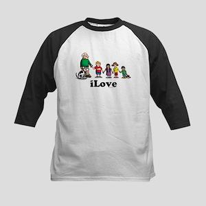 iLove-kids Kids Baseball Jersey