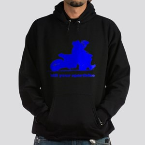yamaha blue kill your sportbi Hoodie (dark)