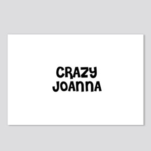 CRAZY JOANNA Postcards (Package of 8)