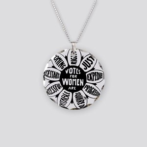 Votes For Women Historical d Necklace Circle Charm