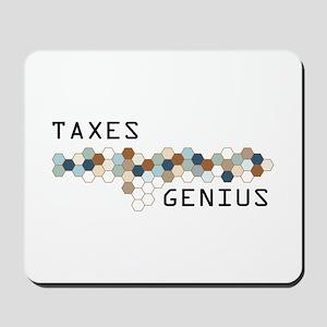 Taxes Genius Mousepad