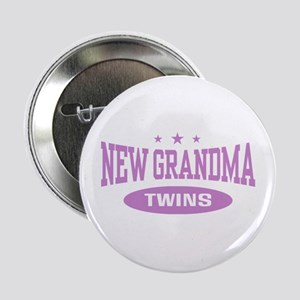 "New Grandma Twins 2.25"" Button"
