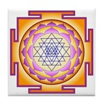 Sacred Healing 7 Tile Coaster