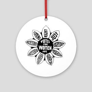 Votes For Women Historical design Round Ornament