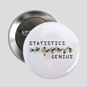 "Statistics Genius 2.25"" Button"