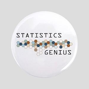 """Statistics Genius 3.5"""" Button"""