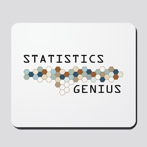 Statistics Genius Mousepad