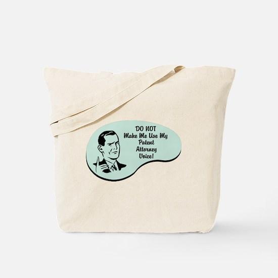 Patent Attorney Voice Tote Bag