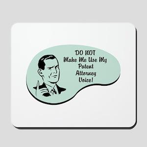 Patent Attorney Voice Mousepad
