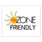 Ozone Friendly Small Poster