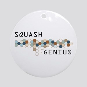 Squash Genius Ornament (Round)