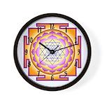 Sacred Healing 7 Wall Clock