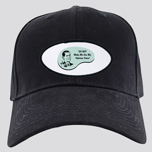 Optician Voice Black Cap