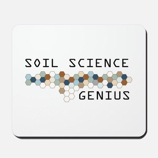 Soil Science Genius Mousepad