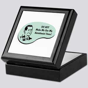 Nutritionist Voice Keepsake Box