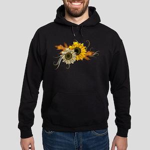Sunflowers Hoodie (dark)