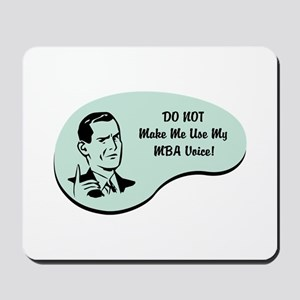 MBA Voice Mousepad