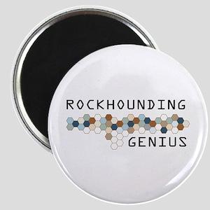Rockhounding Genius Magnet
