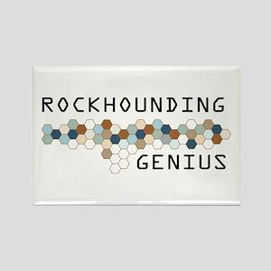 Rockhounding Genius Rectangle Magnet
